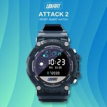 2021 new LOKMAT ATTACK 2 Sport Smart Watch IP68 Waterproof Fitness Tracker Pedometer Calorie Smartwa