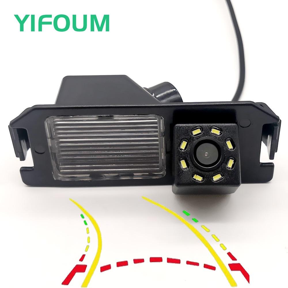 YIFOUM Dynamic Trajectory Tracks Car Rear View Camera For Hyundai Solaris Genesis Veloster Elantra Verna Rohens I10 I20 I30 IX55