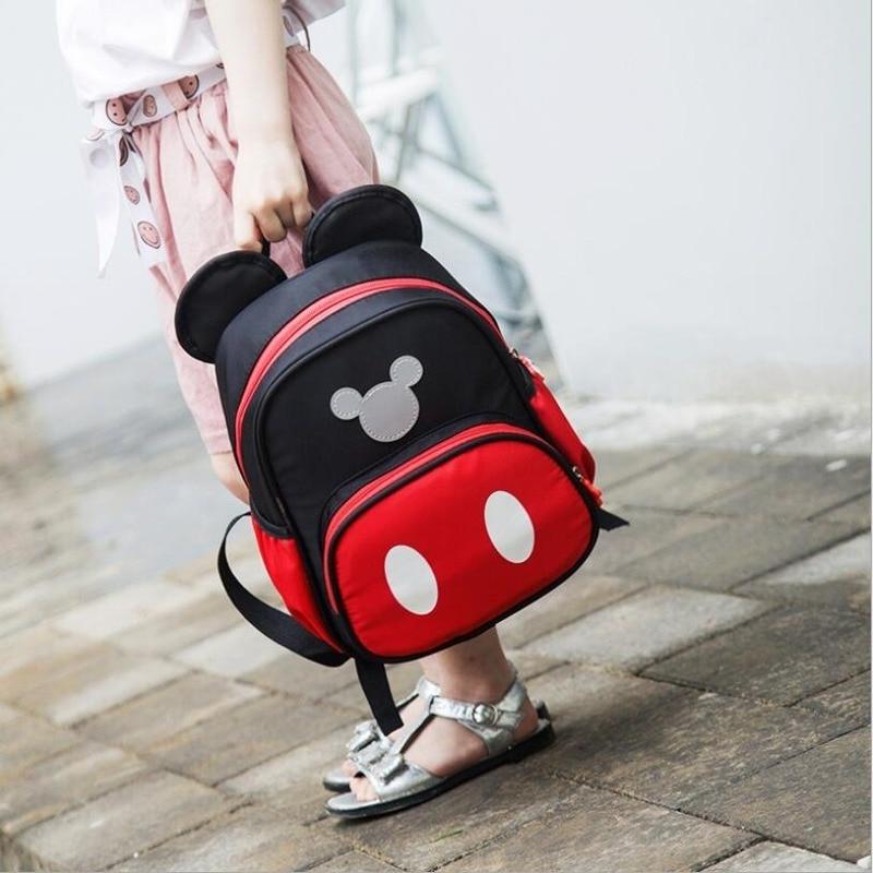 Cartoon Mickey Children School Bags for Girls&Boy Kids Backpack Child Book Bag Minnie Princess Schoolbags Mochila Escolar