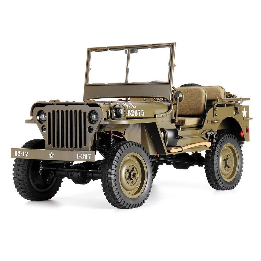 RCtown rocobby RC Car 16 2,4G 2CH 1941 MB SCALER RC Car impermeable modelos de vehículos totalmente proporcionales juguetes sin batería X704