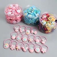 1020 root childrens hair ring headwear hair korean version the cartoon headwear girl rubber band sweet cute hair accessories