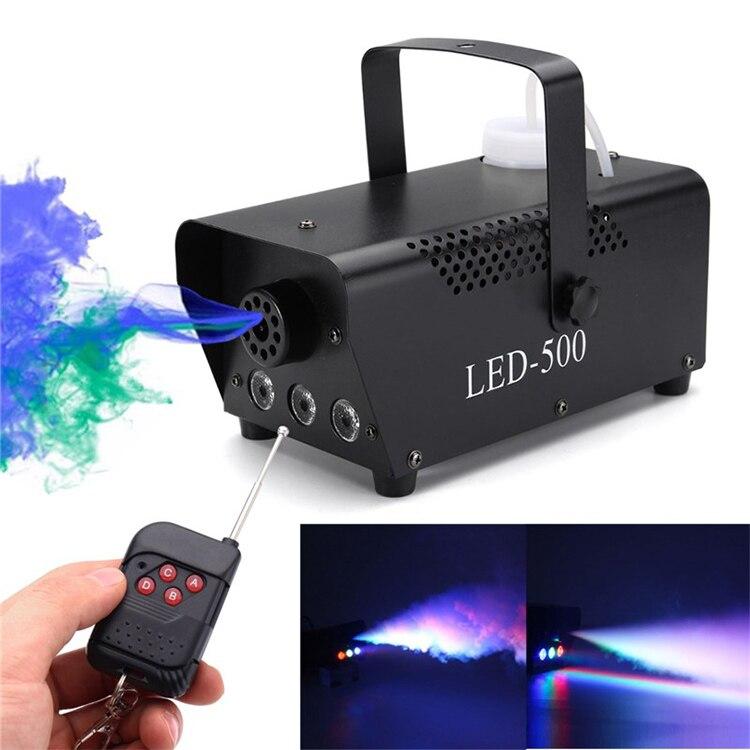 Portable 400W 500W Fogging Machine Remote Control Wireless Wedding DJ Stage Party Fog Smoke Machine