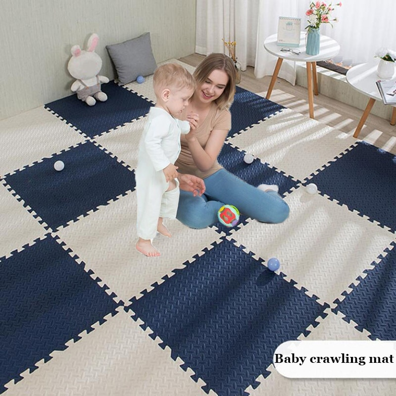 18 шт. детские коврики-пазлы, игровой коврик, Детский мягкий коврик для лазания EVA, татами для гостиной, игровые коврики, 1 см толщиной