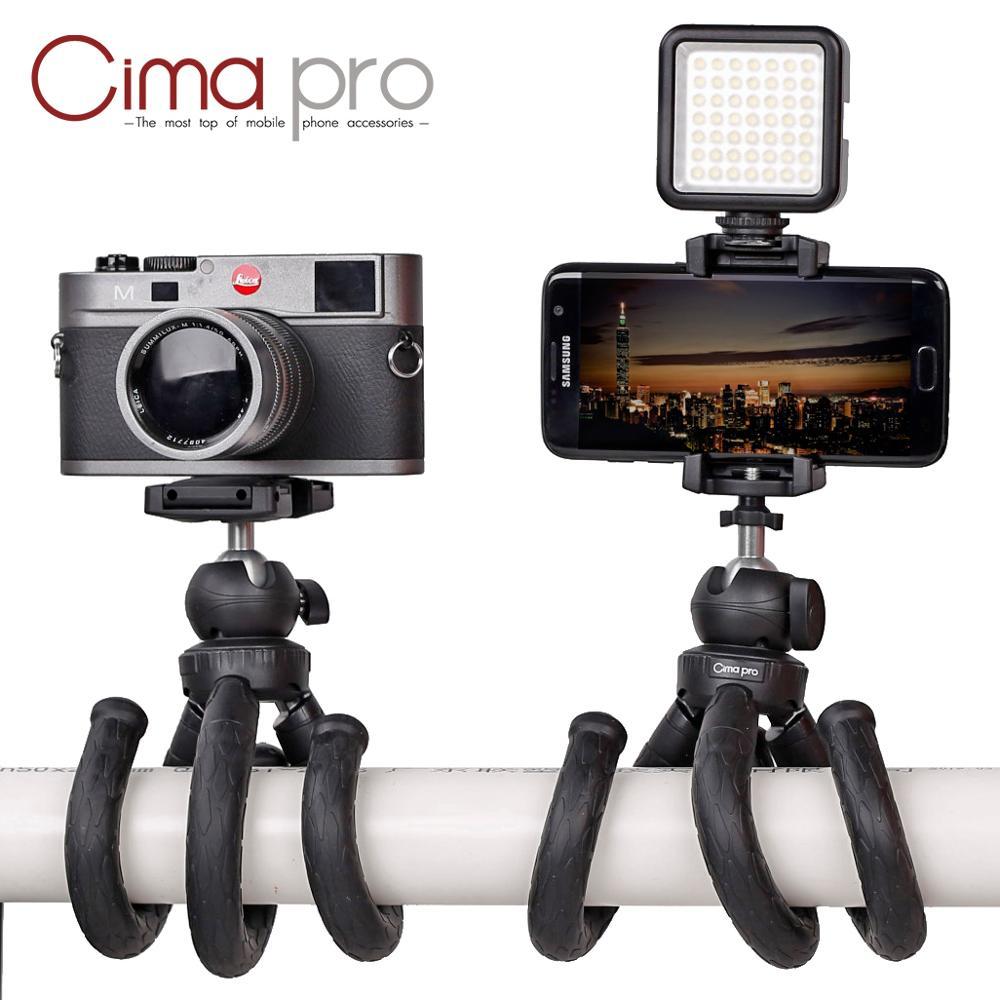 Cima pro RM-30II Travel Outdoor Mini Bracket Stand Octopus Tripod flexible Tripe Tripode For phone Digital Camera GoPro