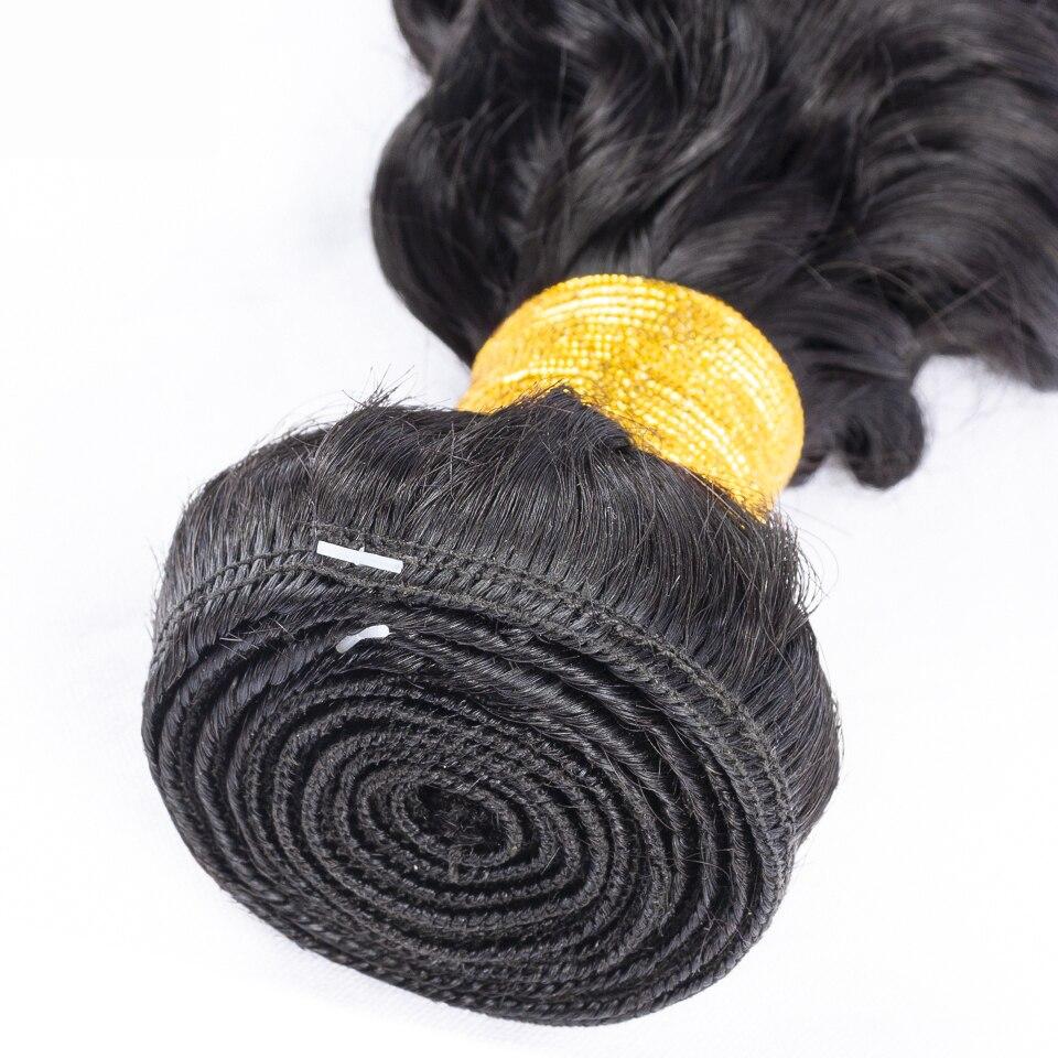 Fashow 30 32 34 36 Inch Brazilian Deep Wave Hair Bundles Deep Curly Human Hair Weaves 100% Natural Human Hair Bundles Remy Hair