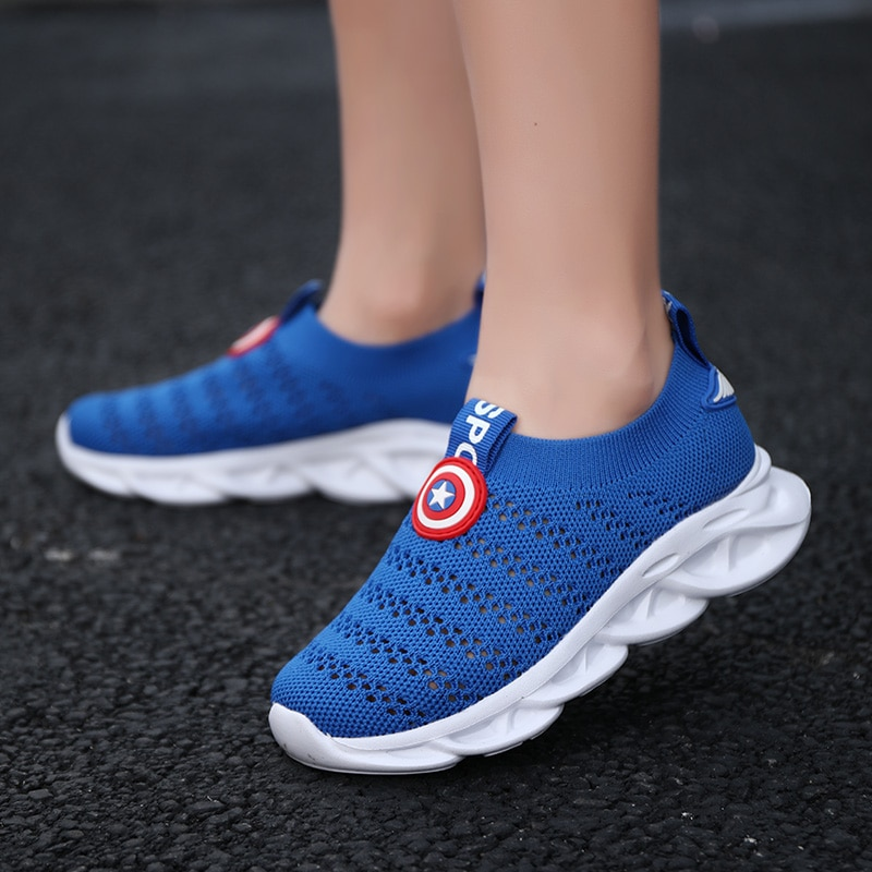 2021 Summer Children Shoes Boys Girls Sneakers Breathable Casual Shoes Fashion Mesh Net Cloth Kids Lightweight Sports Sneakers