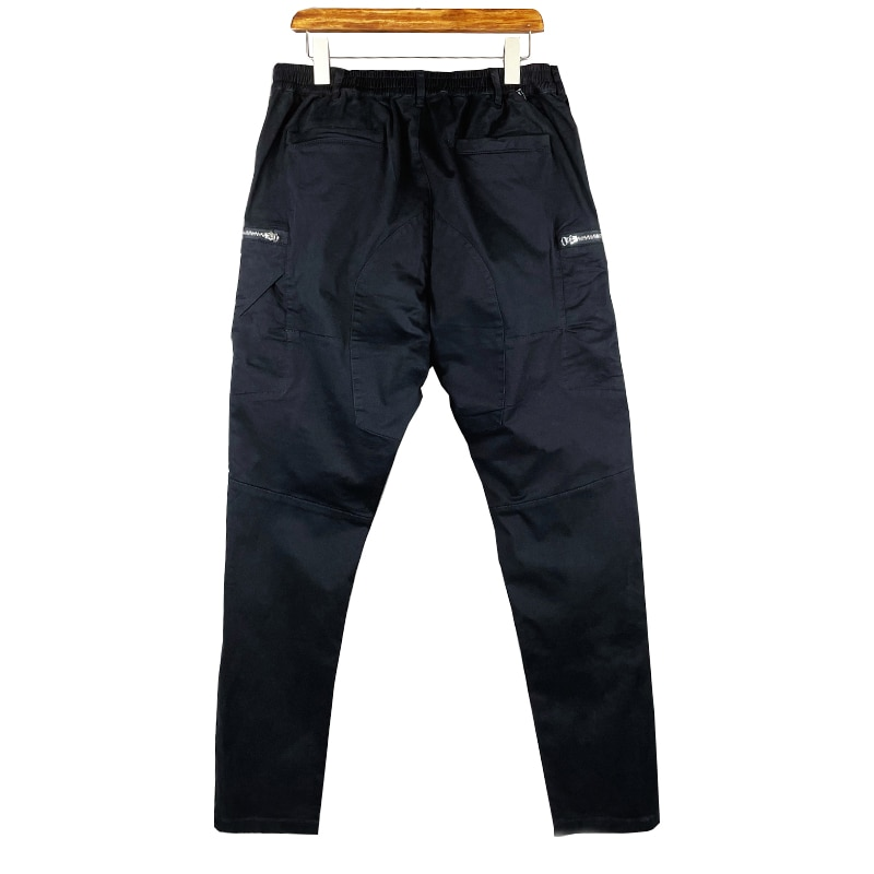 Men's spring and autumn casual pants high quality European and American leisure trend overalls new loose straight pants 2021