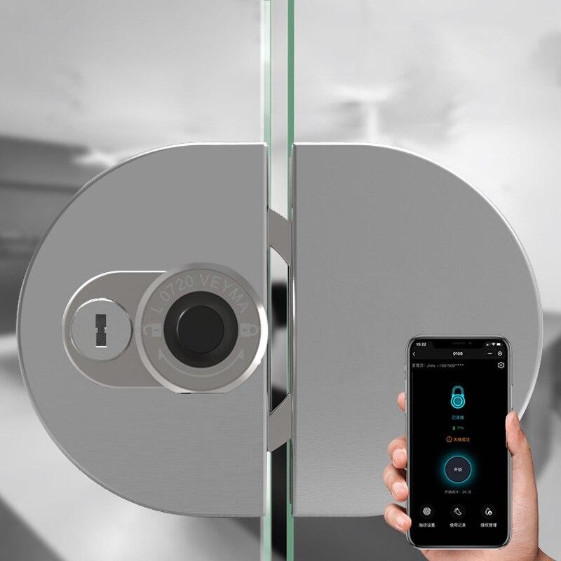 الذكية نظام قفل الباب ببصمة الإصبع قفل باب زجاجي قفل USB قابلة للشحن الكهربائية البيومترية قفل بلوتوث قفل APP التحكم المنزل مكتب