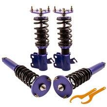 Kits de blocs de Suspension pour Nissan S14 200SX 240SX LE SE   Kits de blocs de montage de bobine 94-98 chocs de ressort