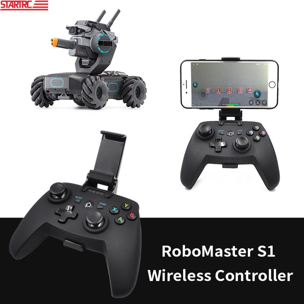STARTRC Robomaster S1 ، جهاز تحكم عن بعد لاسلكي ، مع مشبك هاتف ، تطبيق اتصال لملحقات DJI Robomaster S1
