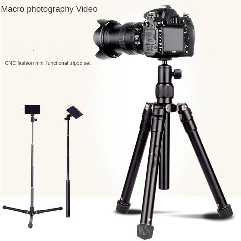 Micro Single Tripod Mobile Phone Vibrato Live Broadcast Stand Photography Self-Portrait Tripod Stand