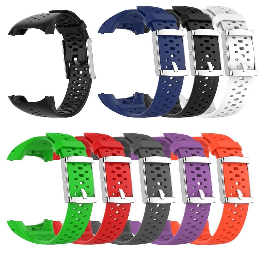Smart Uhr Silikon Handgelenk Strap Band Für Polar M400 M430 Atmungs Komfortable Ersatz Smart Uhr Armband mit Werkzeuge
