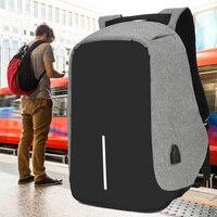 Рюкзак IKE MARTI с защитой от кражи для ноутбука 15,6, городской мужской рюкзак, черный Водонепроницаемый школьный ранец для женщин с защитой от к...