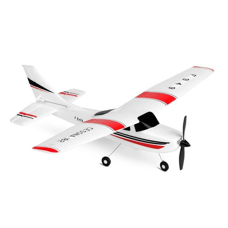 Wltoys actualizado F949S 3CH 2,4G Cessna-182 EPP RC planeador avión RTF modelo en miniatura avión al aire libre juguete giroscopio integrado