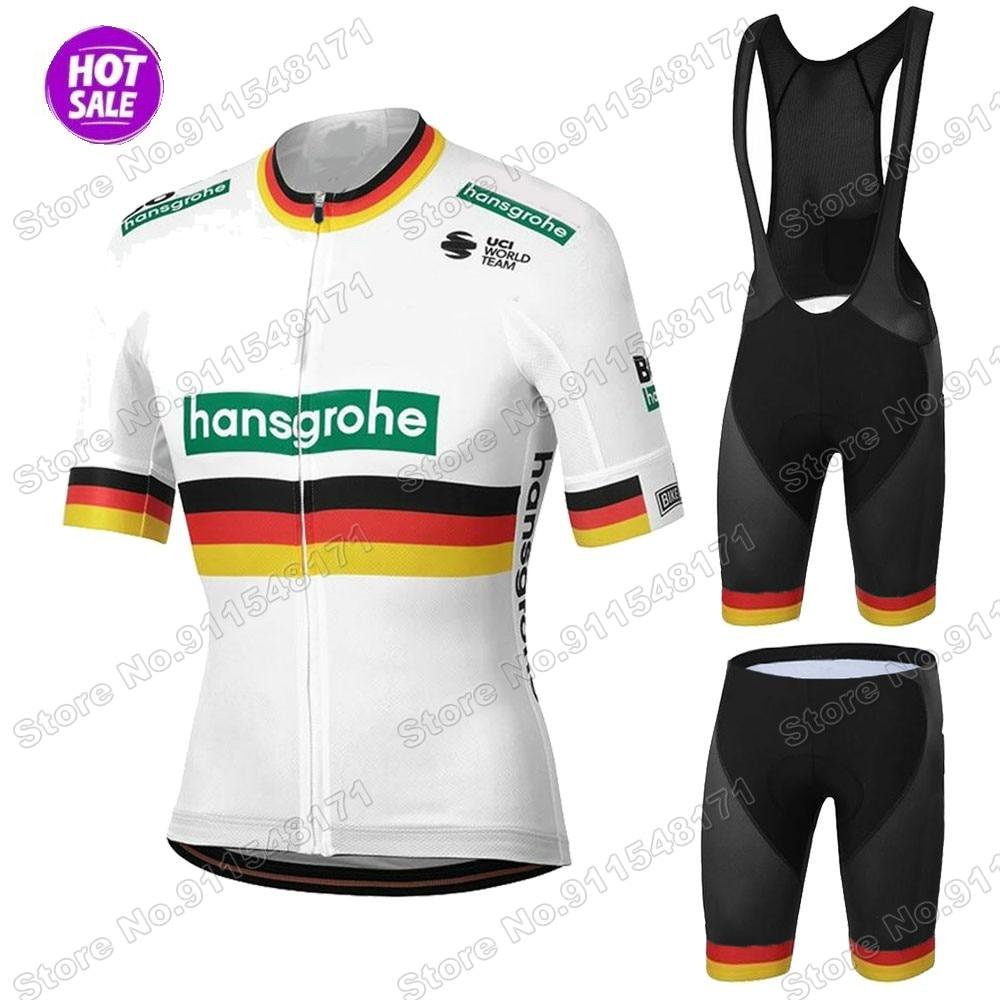 Bora-Conjunto de Jersey de ciclismo alemán, Ropa de verano para bicicleta de...