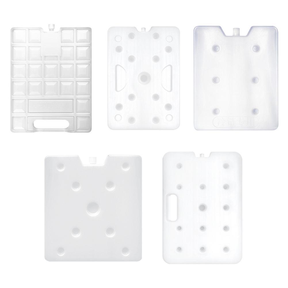 1pc gel freezer saco de gelo cheio de água bloco de gelo refrigerador legal congelador reciclável branco fresco mantendo magro bloco de gelo preservação de alimentos