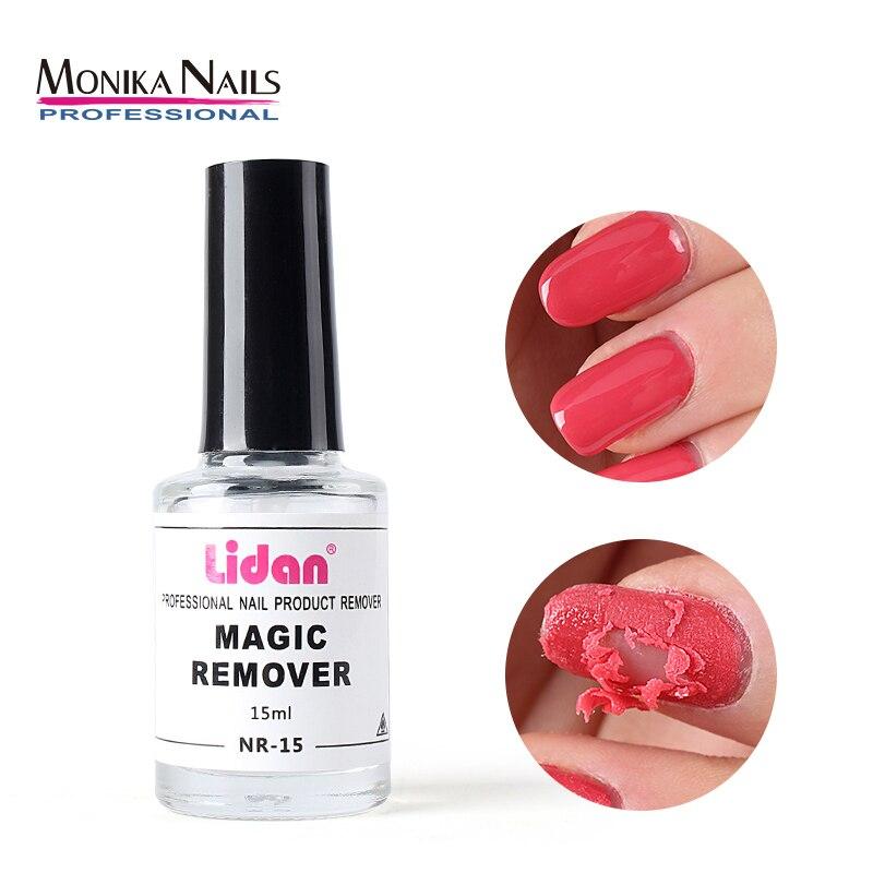 Fast Manicure Semi Permanent Remover Varnish Tool 15ml Burst Gel glue Soak Off Remover Polish Magic