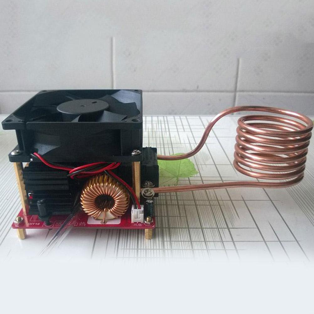 tesla coil driver board drsstc driver air board Top Sale 20A ZVS Induction Heating Board Flyback Driver Ignition Heater Cooker DIY Coil X9K3
