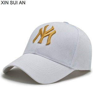 couple Sport Baseball Cap Spring Summer Fashion Letters NY Embroidered Adjustable riding cap Men Women Caps Fashion Hip Hop Hat