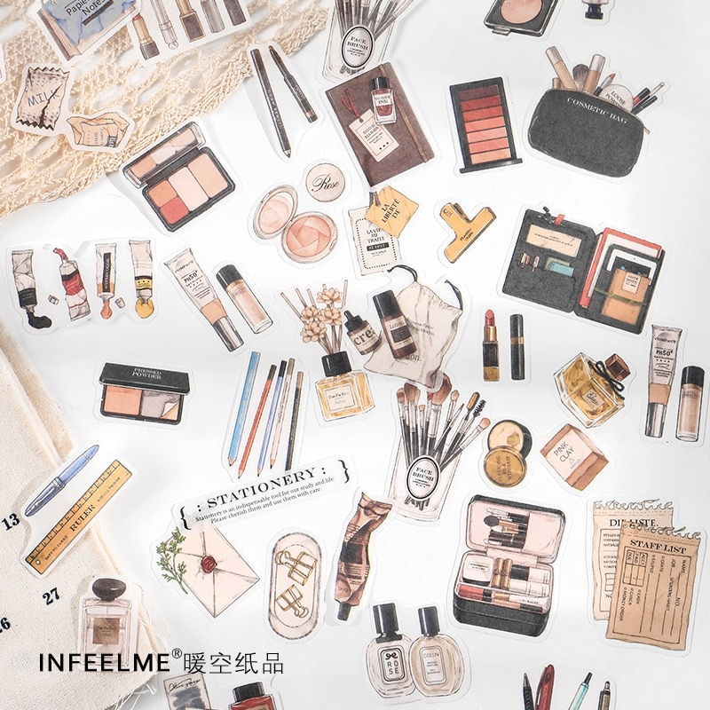 juego-de-pegatinas-de-coleccion-de-maquillaje-pegatinas-de-diario-vintage-para-planificador-artesanal-decoracion-de-embellecedor-pegatinas-para-diario-40-uds