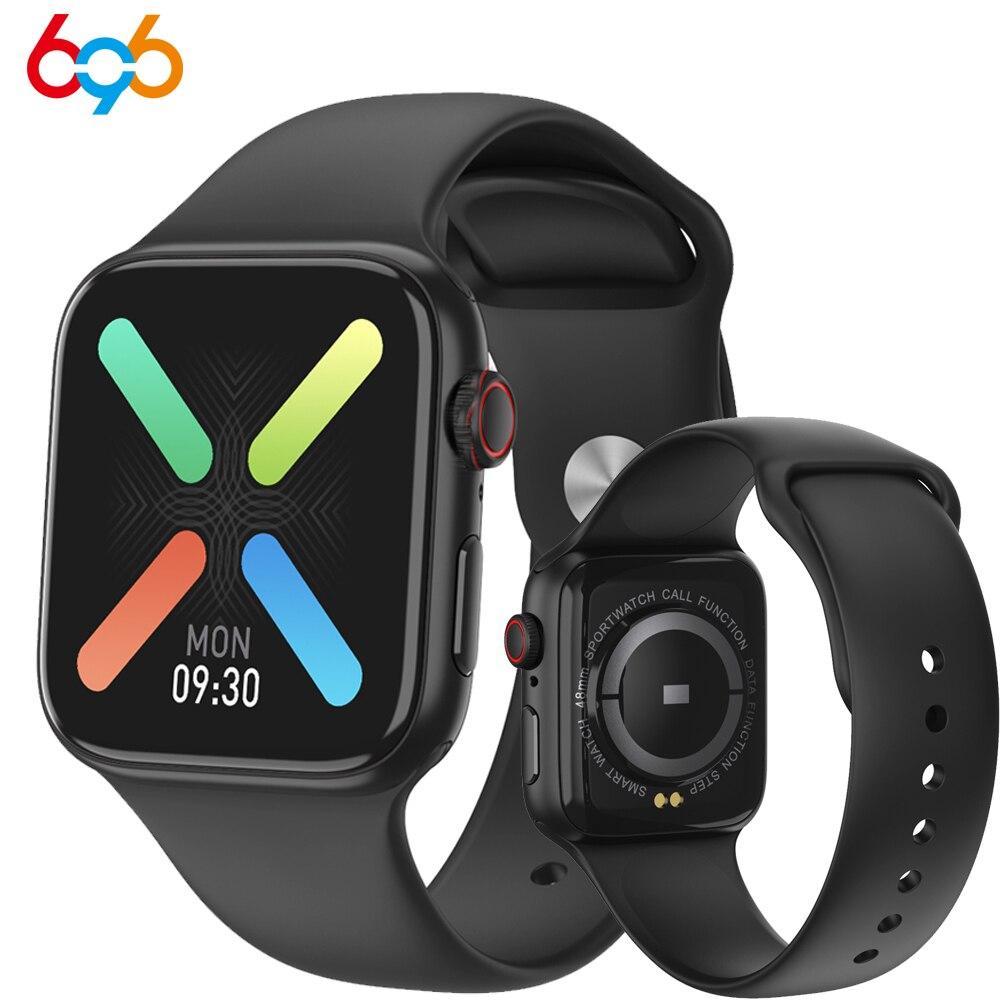 2020 W66 Смарт-часы для женщин и мужчин с Bluetooth звонком IP67 водонепроницаемый монитор сердечного ритма артериального давления умные часы PK W34 IWO 12...