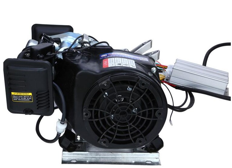 Extensor de rango automático silencioso 4KW/5KW/6KW/7KW/8KW 48 V/60 V/72 V coche eléctrico de tres ruedas/cuatro ruedas