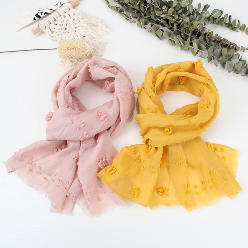 High Quality Cute warm and comfortable Childrens scarf baby cute