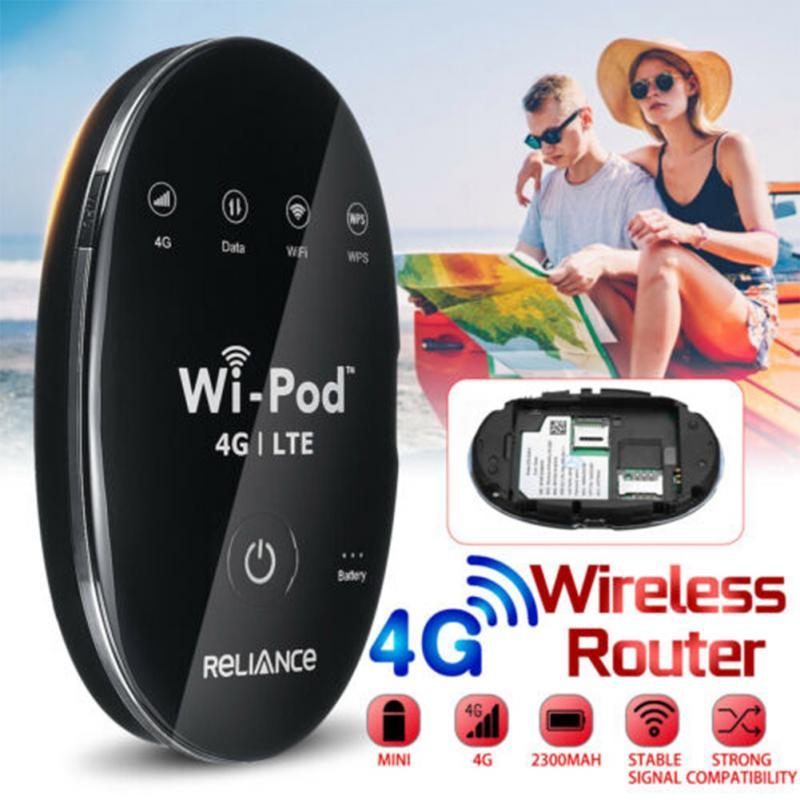 Portátil Universal 4G LTE móvil Hotspot enrutador ligero Mini bolsillo viaje Hotspot WiFi inalámbrico multifrecuencia alta velocidad