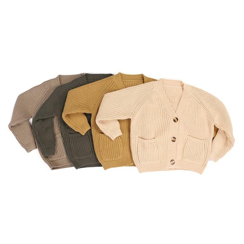 Ángel Kaiya niños Boutique niñas chaqueta suéteres abrigo prendas de vestir lana Knited niño pequeño niños chaqueta niñas niños suéteres Tops 2020