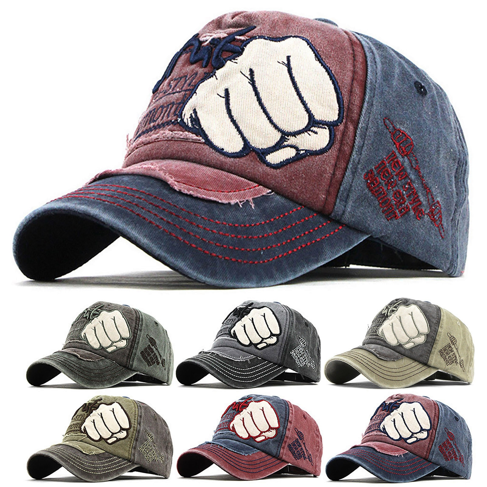 simple and stylish Unisex comfortable Outdoor Cotton Embroidered Unisex Baseball Caps Adjustable Dro