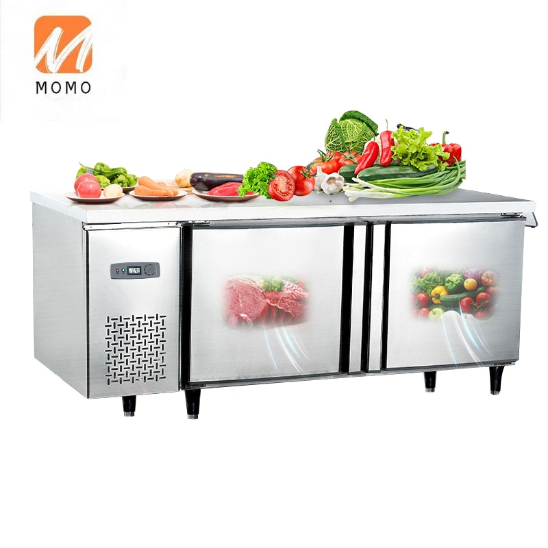 Commercail Freezing and refrigeration self-selected  chicken meat vegetable refrigerated equipment deep freezer r