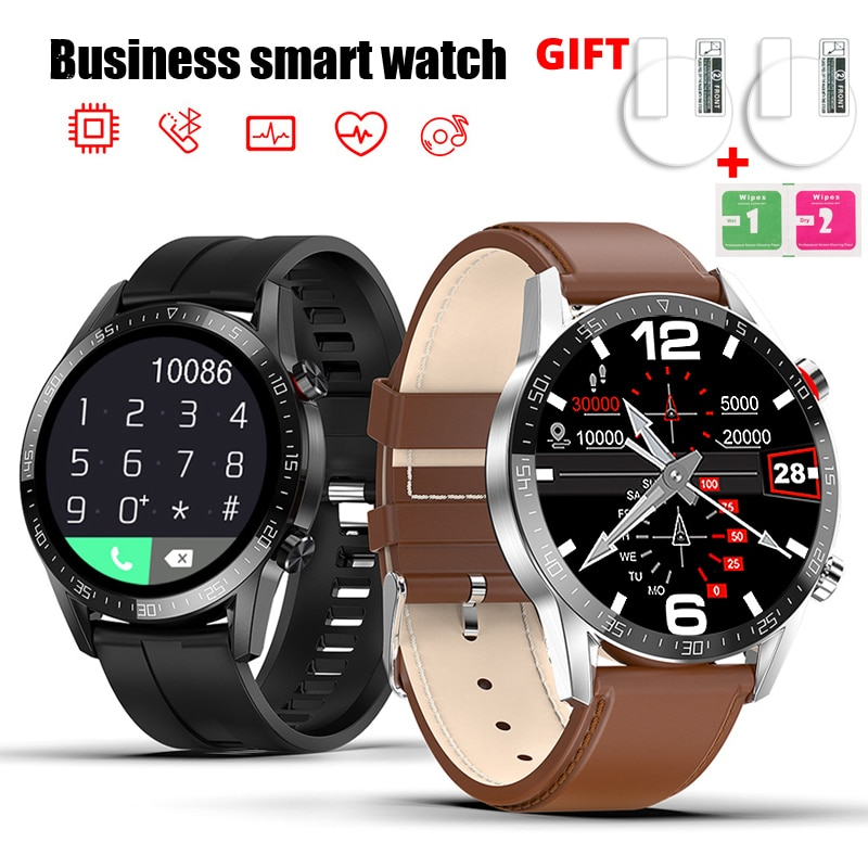 NEW Smart Watch Men Women Bluetooth Call Custom Dial Full Touch Waterproof Smartwatch For Android IO