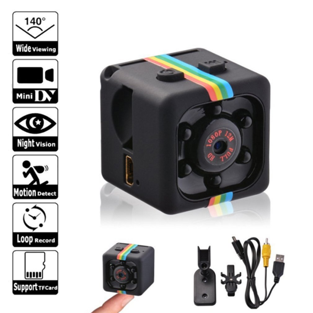 SQ11 Mini Micro Camera Sport DV Sensor Night Vision Camcorder Motion DVR Micro Camera Video Ultra Sm