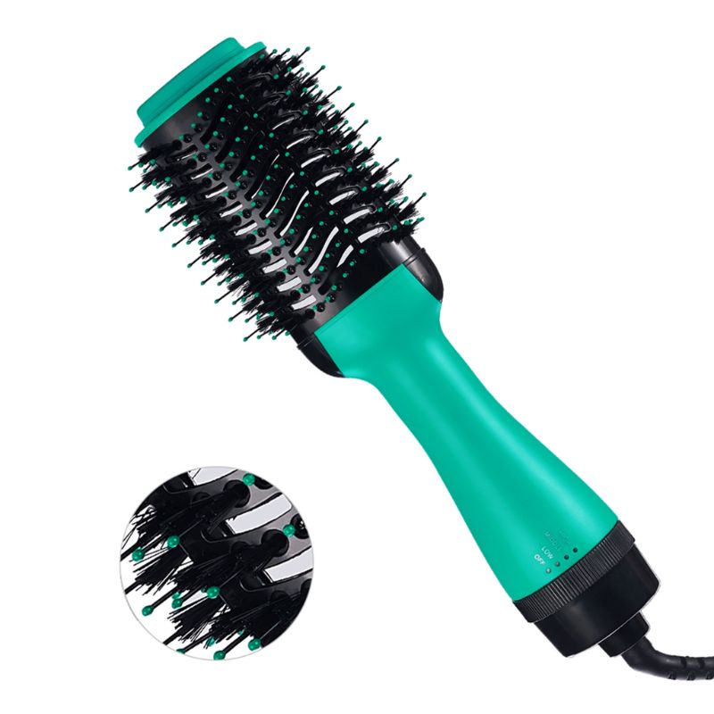 Straightener and Curler Hot Air Curling Iron Rotating Comb Hot Air enlarge
