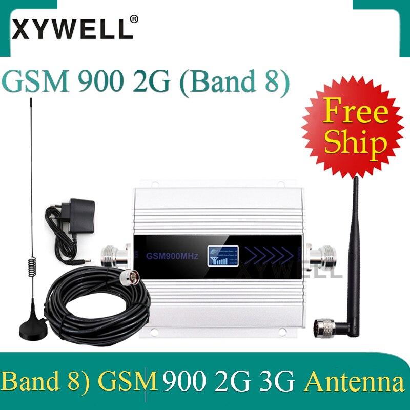 ¡Gran venta! AMPLIFICADOR DE señal gsm UMTS 900 3g amplificador de señal 2G GSM 900 MHz repetidor de señal celular con antena de ventosa