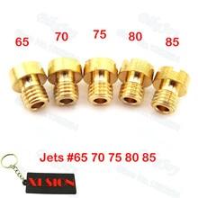 5 مللي متر استبدال المكربن Jets #65 #70 #75 #80 #85 ل Dellorto SHA PHBG Carb Tomos A35 Targa LX Sprint