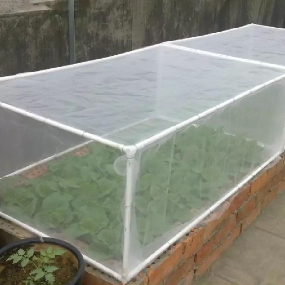 Efecto invernadero red protectora frutas/hortalizas de cobertura de atención de red de insectos planta cubre neto jardín Control de Plagas Anti-pájaro de red de malla