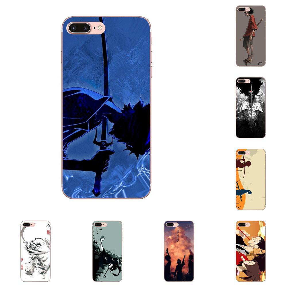 Samurai Champloo estampado caso de la cubierta para Samsung Galaxy Note 8 9 10 Pro S4 S5 S6 S7 S8 S9 S10 S11 S11E S20 Edge Plus Ultra