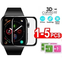 screen protector for apple watch 6 5 4 3 38MM 40MM 44MM 42MM (Not Tempered Soft glass) film for Iwat