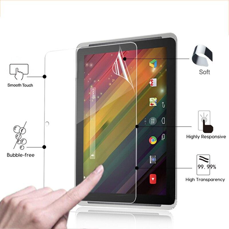 "Premium anti-riscado claro brilhante filme protetor de tela para hp 10 plus 2201 10.1 ""tablet frente hd tela lcd película protetora"