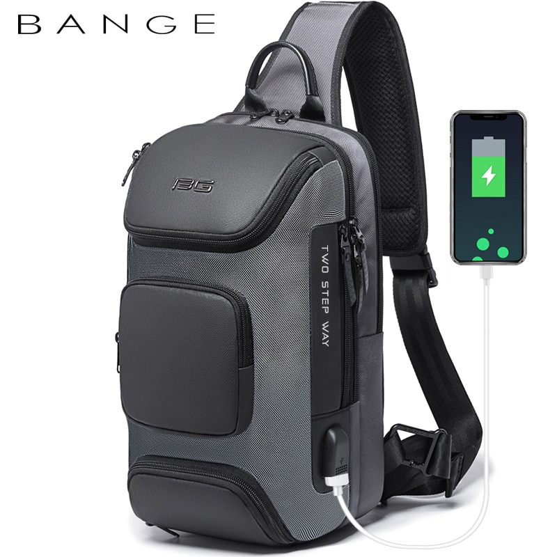Anti-theft New Multifunction Crossbody Bag for Men Shoulder Messenger Bags Male Waterproof Short Trip Chest Bag Pack new multifunction crossbody bag for men anti theft shoulder messenger bags male waterproof short trip chest bag male bag