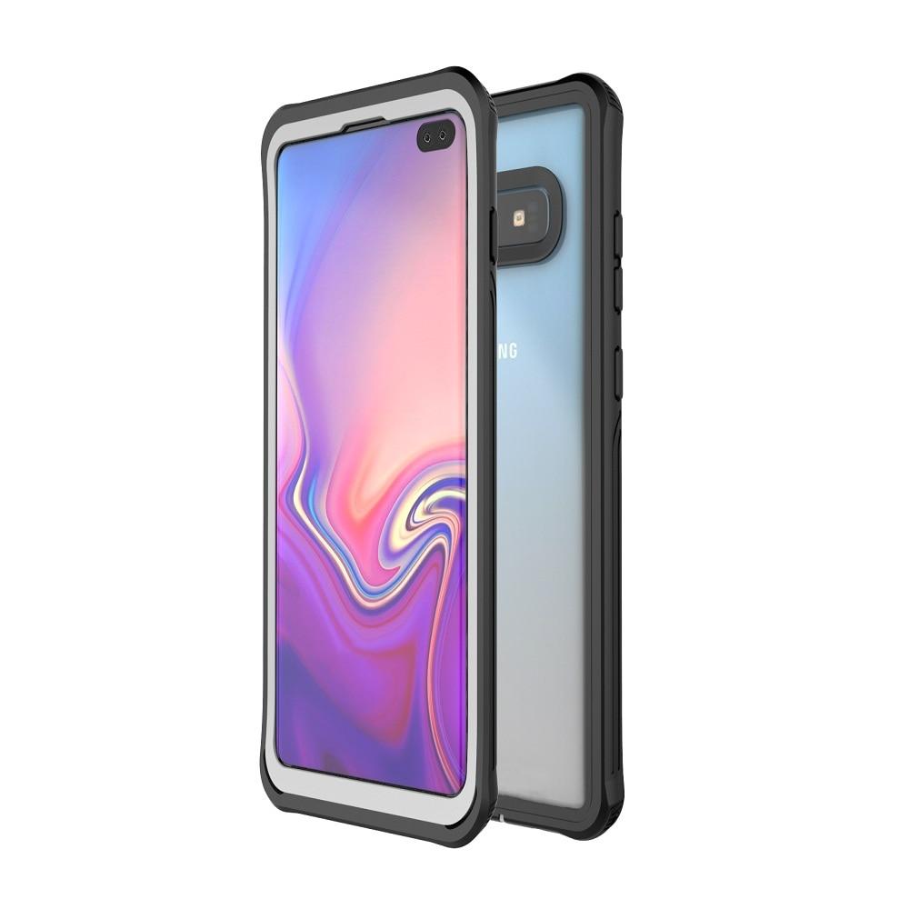 Funda para teléfono S10 PLUS para Samsung Galaxy S10 funda transparente a prueba de golpes para Samsung S10 Plus funda Gorilla Glass pantalla protector