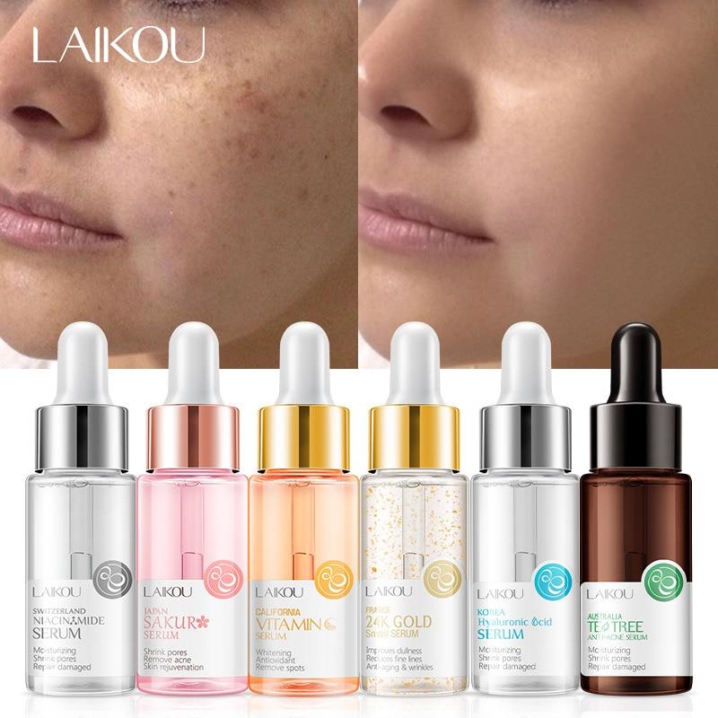 Strong Hyaluronic Acid 5 Color Blossom Vitamin C Snail Serum Anti Wrinkle Face Serum Facial Skin Care Cream Moisturiser TSLM1