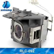 Original W-Housing RLC-092 P-VIP 190W 0.8 E20.9 Projector Lamp/Bulbs For VIEWSONIC Projector