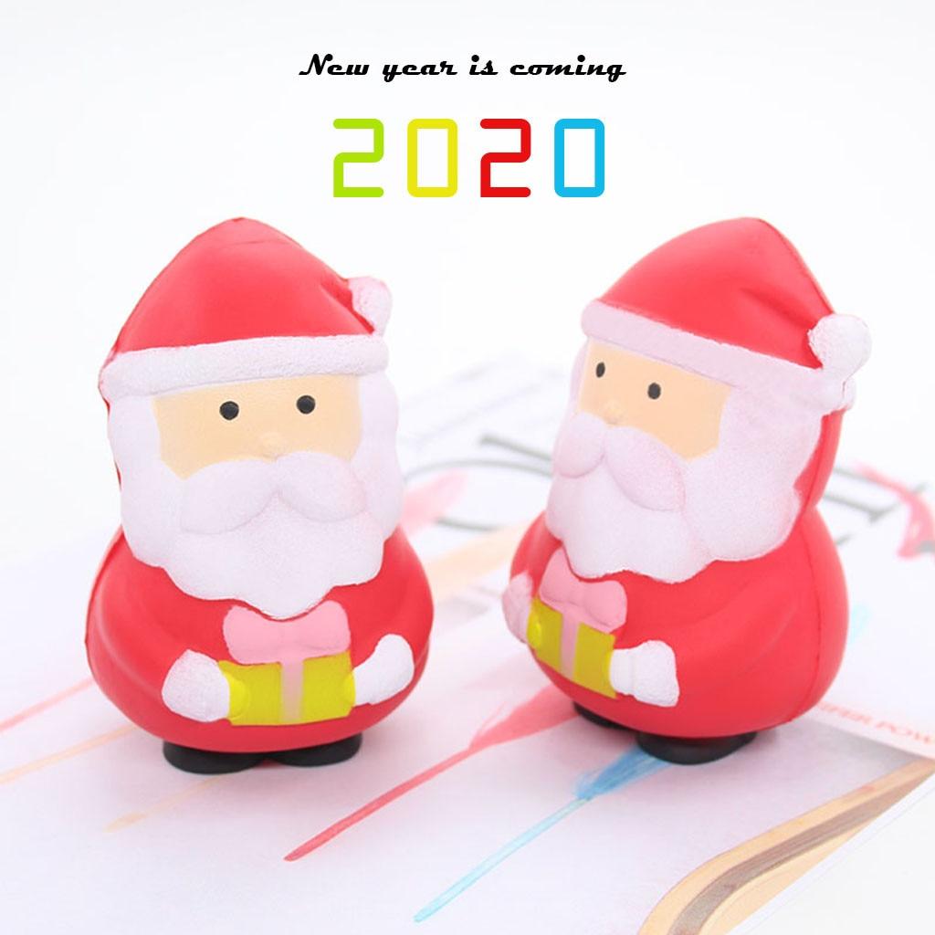 Brinquedo de descompressão perna curta papai noel lento subindo brinquedo para crianças menino presente da menina presente brinquedo christamas presente das crianças brinquedos do miúdo # e30