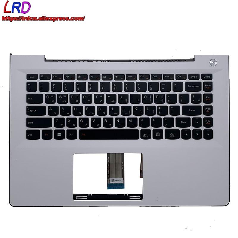 C الغطاء العلوي للقضية Palmrest مع KR الكورية الخلفية لوحة المفاتيح لينوفو U41 S41 -70 -75 -35 500S-14 300S-14ISK محمول 5CB0J32934