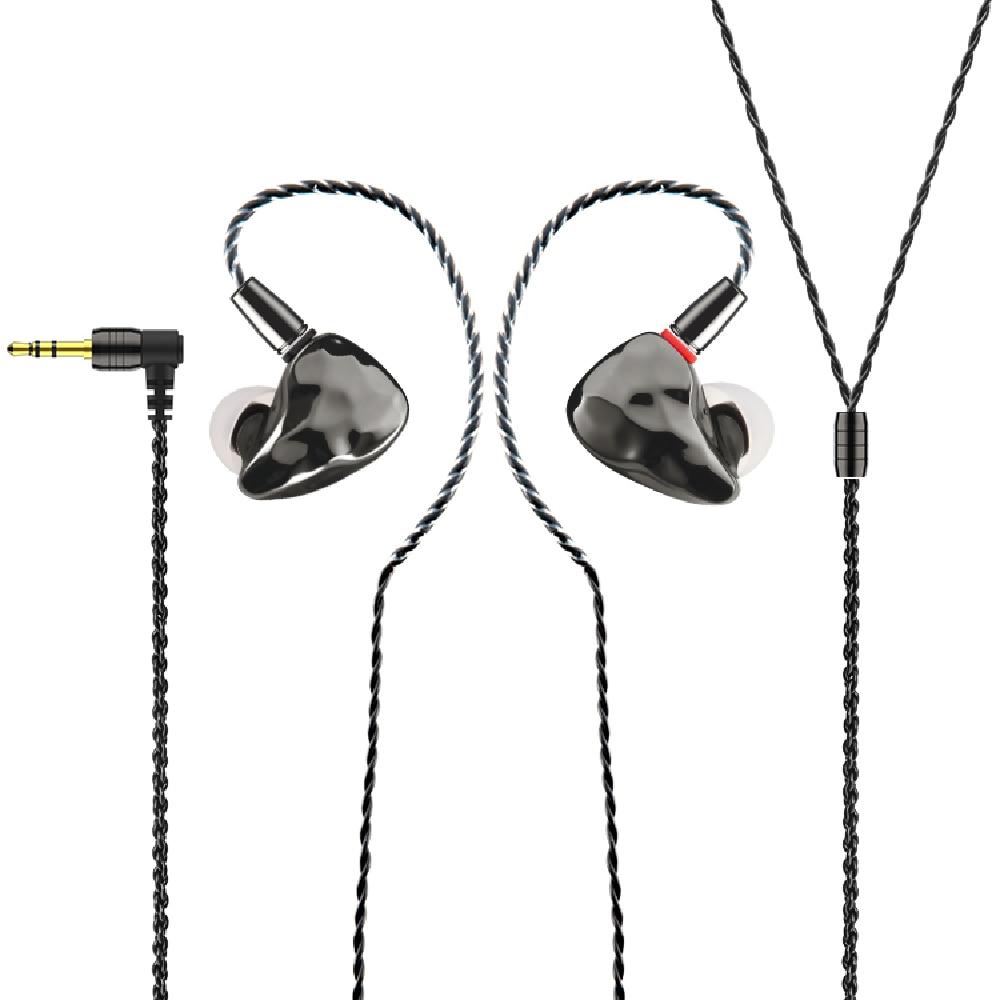 IKKO OH10 في الأذن رصد 1BA + 1DD انفصال تصميم سماعات أذن الموسيقى HIFI سماعة مزدوجة الهجين سماعات الأذن ألعاب