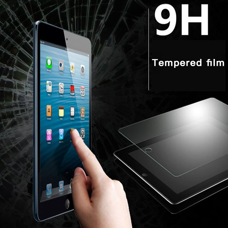 Tempered Glass Screen Protector for iPad 6 5 4 For Air Air2 2 9H Clear Ultra-thin Apple