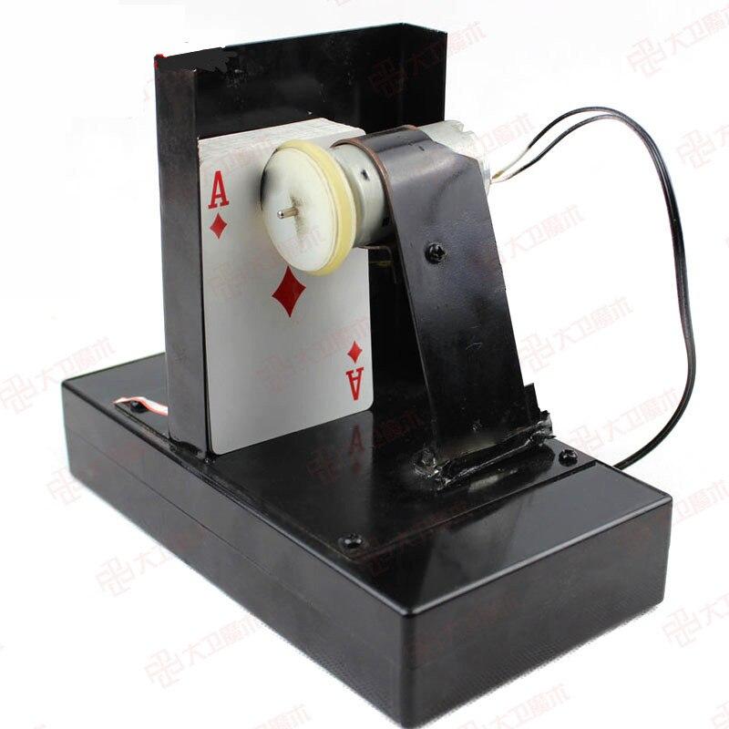 Tarjeta de Control remoto para trucos de magia, tarjeta de espray, accesorios mágicos para escenario, trucos de magia y metal