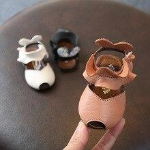 Yaz kız prenses ayakkabı bebek kız sandalet deri çocuk erkek Flats prenses elbise ayakkabı çocuk kız ayakkabı